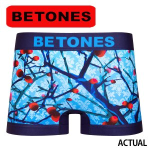BETONES ビトーンズ ボクサーパンツ メンズ ACTUAL メール便対応 プレゼント ギフト|barouge