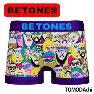 BETONES ビトーンズ ボクサーパンツ メンズ TOMODAchi メール便対応 プレゼント ギフト|barouge