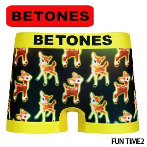 BETONES ビトーンズ ボクサーパンツ メンズ FUN TIME2 メール便対応 プレゼント ギフト|barouge