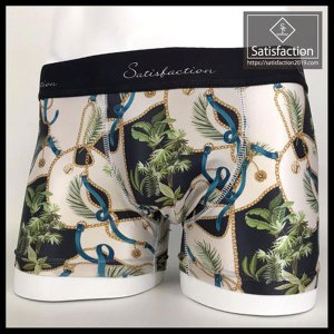 Satisfaction(サティスファクション) ボクサーパンツ メンズ BOTANICAL SCARF プレゼント ギフト|barouge