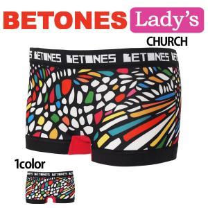 BETONES(ビトーンズ) レディース ボクサーパンツ ショーツボクサー CHURCH メール便対応 プレゼント ギフト|barouge