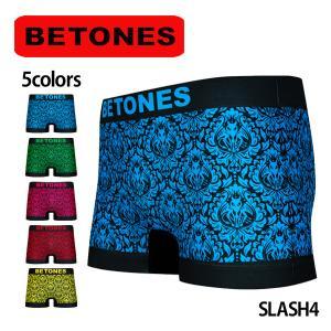 BETONES ビトーンズ ボクサーパンツ メンズ SLASH4 メール便対応 プレゼント ギフト|barouge