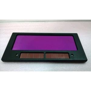 溶接マスク 溶接面 レンズ ガラス 交換レンズ 交換ガラス 溶接面用 液晶式 自動遮光 ソーラー発電 太陽電池 変更用カートリッジ 送料無料|barsado2