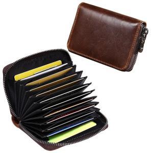 カードケース じゃばら 本革 定期入れ 名刺入れ 大容量 IDケース 送料無料|barsado2