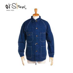 Orslow(オアスロウ) メンズ 1950 デニム カバーオール ジャケット 03-6140 送料無料 2018春夏/新作|bas-clothing