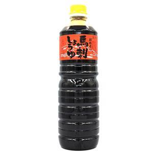 熊本馬刺し屋 馬刺し専用醤油 コッテリ甘口 赤用1リットル basashi