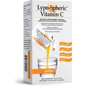 【箱無し特価】リプライセル リポソーム ビタミンC 30包 (1包あたり5.7 ml) LypriCel