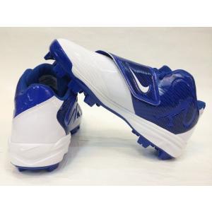 海外モデル NIKE ナイキ ポイントスパイク ホワイト×ブルー NIKE SWINGMAN LEGEND MCS 807123 410 baseballfield