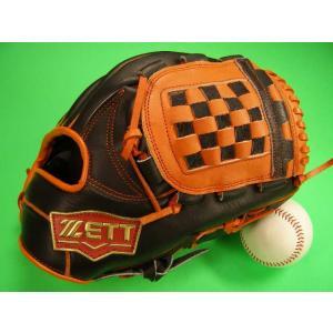 ゼット ZETT 海外限定モデル、人気カラーのおすすめのグラブです。 捕球面の補強やや厚め、ポケット...