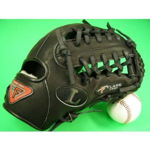 型付け無料 ルイスビルスラッガー LOUISVILLE SLUGGER TPX 硬式用 内野用 ブラック PRO FLARE SERIES|baseballfield