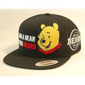 ディズニー&ベアーズ コラボキャップ  Disney DOOSAN BEARS  POOH CAP I AM A BEAR I LIKE BEARS|baseballfield