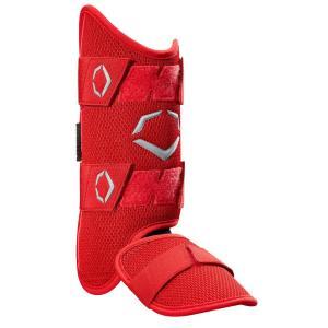 EvoShield Pro SRZ MLB Baseball Batter's Leg Guard WTV1200 RED レッグガード 右打者用 エボシールド カラー レッド アメリカ 輸入