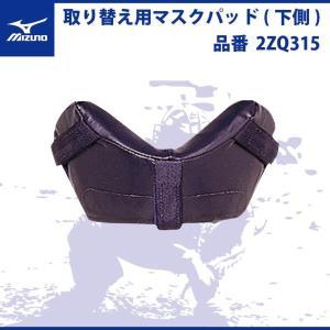 ミズノ 取り替え用マスクパッド 下側 キャッチャー マスク 2ZQ315 面 野球 mizuno
