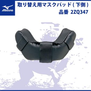 ミズノ 取り替え用 マスクパッド 下 側 キャッチャー マスク 2ZQ347 mizuno|baseballparkstandin