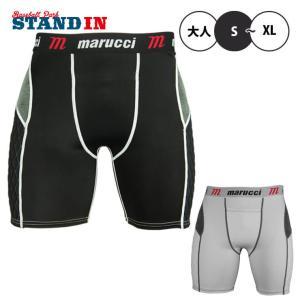 日本未発売 マルーチ 野球 スライディングパンツ ファウルカップ収納式 MASL スラパン 並行輸入品 marucci あすつく|baseballparkstandin