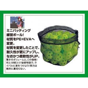 MINIバッティング練習ボール (50個入) FBB-4050|baseballpower