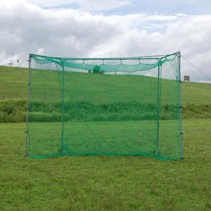 野球 大型 バッティングゲージ 折りたたみ式 バッテイングネット ティーバッティング 野球 打撃 練習器具 上達器具 FBN-2010N2  スーパーワイド 2.0m×3.0m|baseballpower