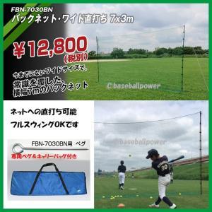 FBN-7030BN 大型バックネット ティーバッティング 打撃練習 バッティングネット 実打可能なバックネット※送料無料(沖縄・離島除く)|baseballpower