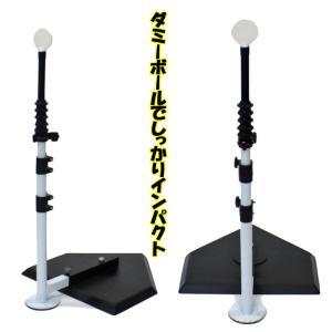 バッティングティー スイングパートナー FBT-351 スペアダミーポール付き 野球 打撃 練習器具|baseballpower