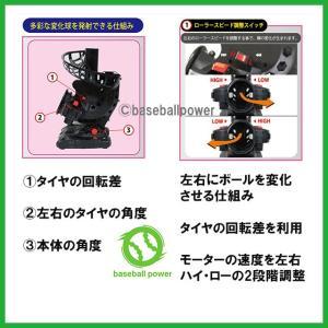 FPM-152PU バッティングマシン 変化球対応  ACアダプター(別売り)対応 ウレタンボールで打感アップ|baseballpower|02