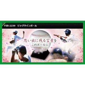 ビッグサインボール FSB-2239|baseballpower