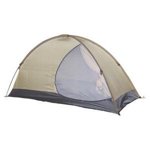 「トレックライズ」はテントの広いパネルに解放感のある 大きな半月型の入り口を持った3シーズン用テント...