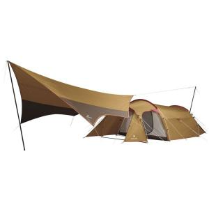設営のしやすいテントと、定番のヘキサ型タープがセットになった、 お求めやすい価格のエントリー向けパッ...
