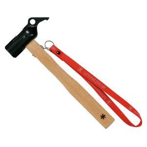ペグを打つ、そのためだけに生まれた鍛造製の最強ハンマー  たかがハンマーと軽く思われがちな設営道具、...
