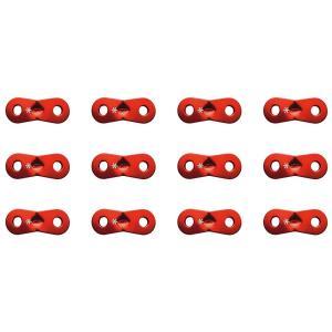 Pro.モデルのロープに付属している赤いカラーのアルミ自在です。 3mmと4mm、どちらのロープにも...