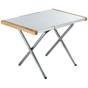 熱・キズ・汚れに強いステンレストップのサイドテーブル。 表面に特殊エンボス加工を施してあるのでクリー...