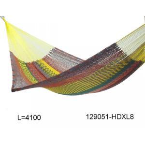 メキシカンハンモック HD XL/手編み コットン アウトドア キャンプ|basecamp-jp