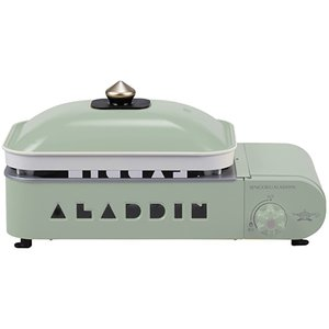 センゴクアラジン SAG-RS21 ポータブル ガス ホットプレート プチパン 限定色 (Sengoku Aladdin)/アウトドア キャンプ 調理器具|basecamp-jp