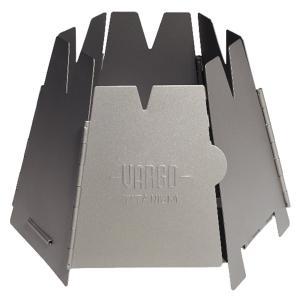 六角形のウルトラバックパッキング用薪ストーブ。 折りたたむと薄さわずか1センチ。 バックパックのスペ...