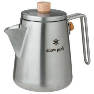 フィールドで美味しいコーヒーを楽しむカフェツール 注ぎやすさとキャリング性を兼ね備えた注ぎ口形状。 ...