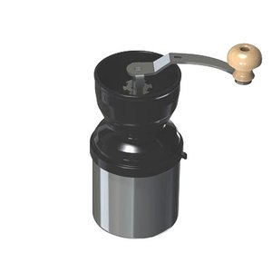 コンパクトに収納が可能なコーヒーミル。 ステンレス鍛造の刃を採用し、切れ味を保ちます。 ミル部は逆さ...