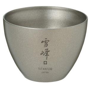 日本酒の味を左右する温度を適温に保つお猪口。  二重構造のお猪口なので、お酒の味を左右する温度を適温...