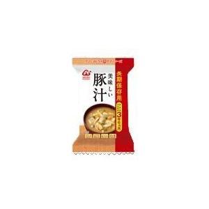 アマノフーズ 長期保存用 美味しい豚汁/アウトドア 携行食品 保存食 防災備蓄|basecamp-jp