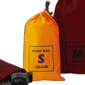 防水コーティング加工された70デニールナイロン生地を使用したシンプルなスタッフバッグです。目止め加工...