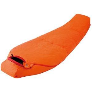 ファイントラック FAG0552 ポリゴンネスト オレンジ ショート/アウトドア マミー型寝袋|basecamp-jp