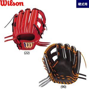 あすつく 展示会発注限定 ウイルソン 野球用 硬式 グラブ 内野用 サイズ6 内野手用 WilsonStaff DUAL WTAHWFD6T wil19fw|baseman