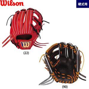 あすつく 展示会発注限定 ウイルソン 野球用 硬式 グラブ 内野用 サイズ5 内野手用 WilsonStaff DUAL WTAHWFDST wil19fw|baseman