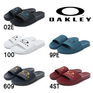 あすつく 限定 OAKLEY オークリー サンダル エリプススライド Ellipse Slide 15205 oak19ss|baseman