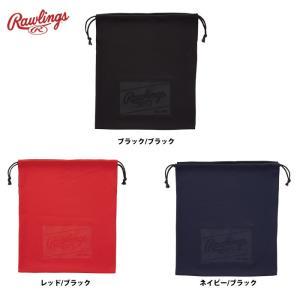 7月下旬発売予定 ローリングス グラブ袋 シューズ袋 エンボスマーク EAC8S01A raw19fw baseman