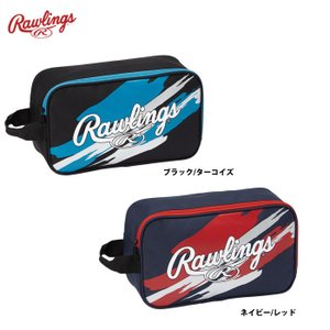 7月下旬発売予定 ローリングス シューズケース ESC9F01 raw19fw baseman