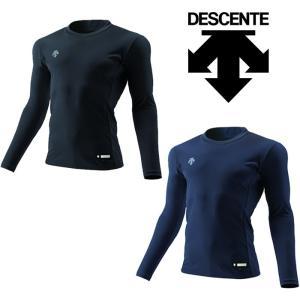 デサント アンダーシャツ 裏起毛 長袖 丸首 リラックスFit STD-654 des17fw|baseman