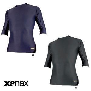 特価 ザナックス 七分袖 丸首 アンダーシャツ BUS-303 xan16fwsale baseman