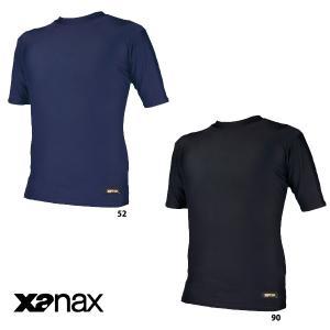 特価 ザナックス 半袖 丸首 アンダーシャツ BUS-304 xan16fwsale baseman