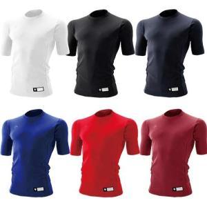 デサント 半袖 丸首 アンダーシャツ リラックスフィット STD-700 li1707|baseman