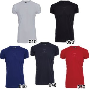 美津和タイガー 野球 アンダーシャツ ミドルフィット 半袖 丸首 遮熱素材 UWRDYS-004 mit18ss wear|baseman