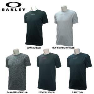 あすつく OAKLEY オークリー トレーニングTシャツ 458092 oak19tee oak19fw|baseman